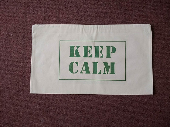 Grounding Cushion ('Keep Calm')