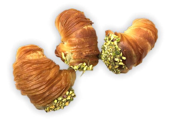 Code di aragosta alla crema di pistacchio