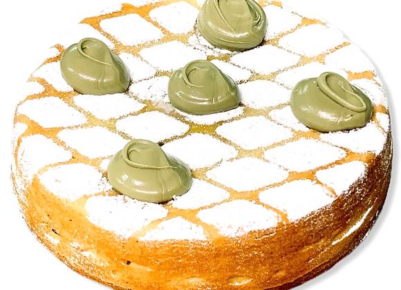 Torta rustica al pistacchio