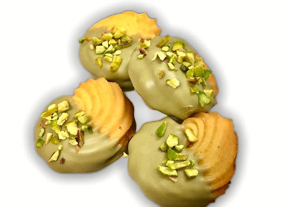 Biscotti da tè al pistacchio