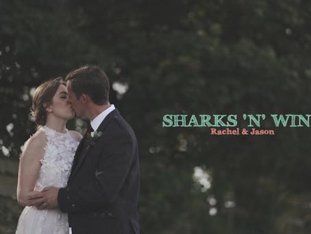Sharks 'n' Wine by Rachel and Jason