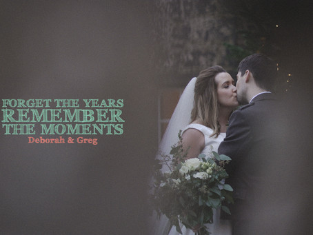 Forget the Years Remember the Moments by Deborah and Greg