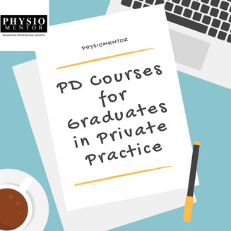 Blog # 26 PD Courses Recommended for Graduates by Private Practice Owners.