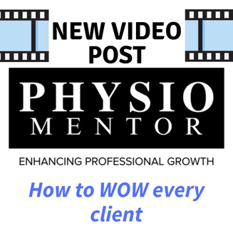 Blog #34 - How to WOW every client......
