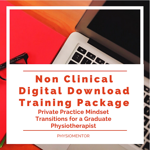 Non-Clinical Digital Package for Physiotherapy Graduates in Private Practice