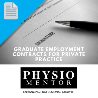 Blog #35 - Graduate Employment Contracts for Private Practice