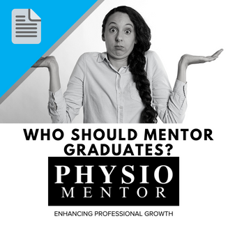 Blog #51 - Who should mentor graduates?