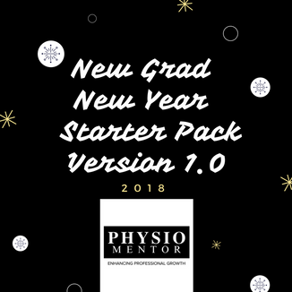 Blog #23 New Grad, New Year - Starter Pack Version 1.0