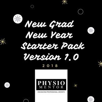 Blog #23 New Grad, New Year - Starter Pack Version 1.0