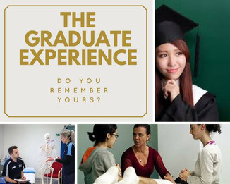 Blog #3 - Do You Remember Your First Experience as a New Graduate?