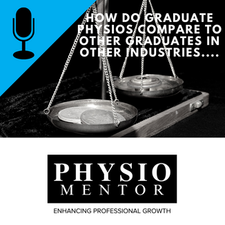 Blog #50 - How do graduate physios compare to other graduates in other industries....