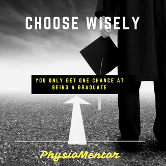 Blog #10 - Choose your first job wisely as you only get one chance at being a graduate