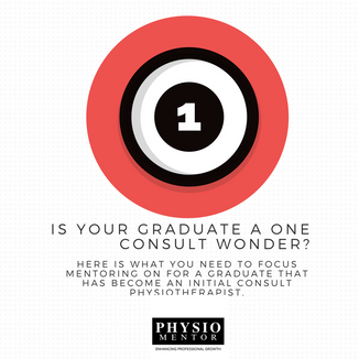 Blog # 6- Is your graduate a one consult wonder?
