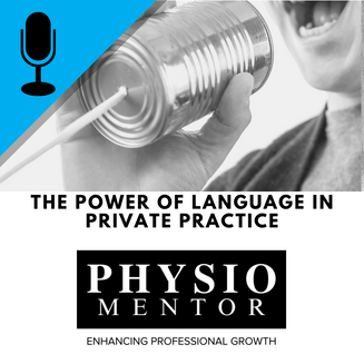 Blog #46 -                           The Power of Language in Private Practice
