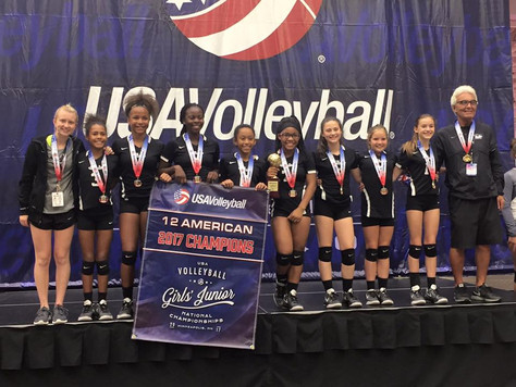 12 Elite Bring Home Championship in the American Division at the USAV National Tournament