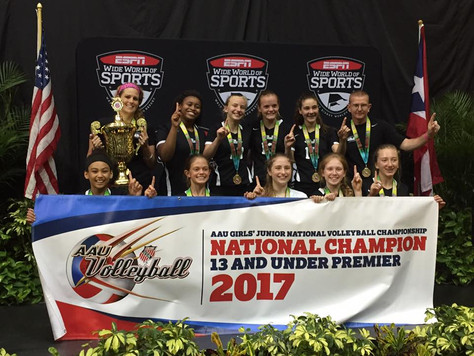 13 Elite Bring Home the Championship at the AAU National Championships