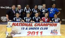 2011 15 BLACK AAU CHAMPIONS
