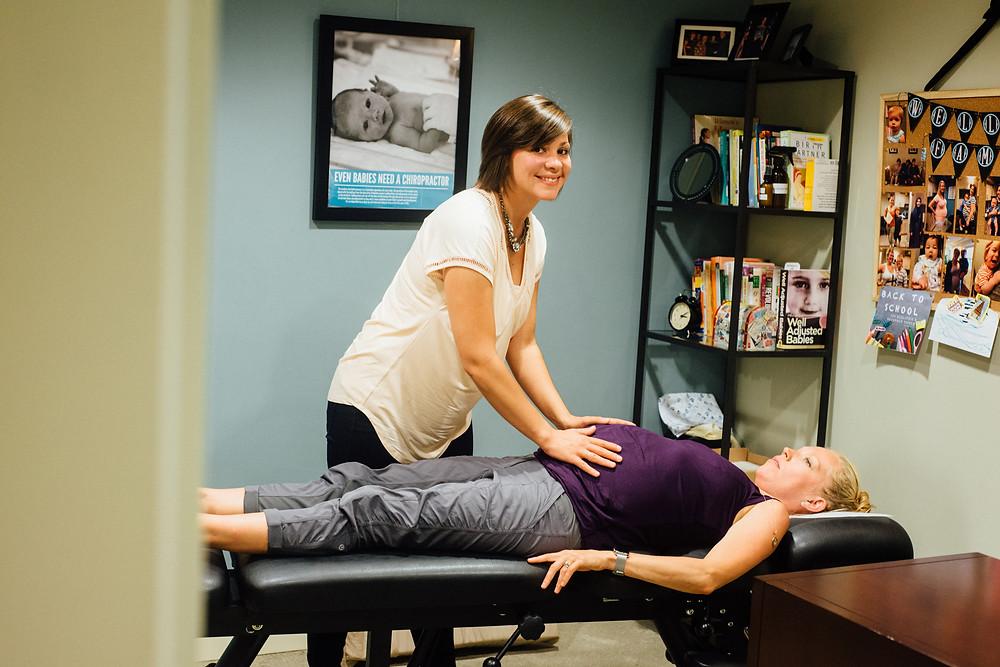 Prenatal Chiropractor (Webster + Pregnancy)