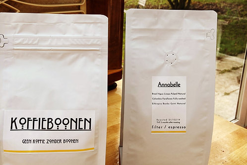 Koffie Annabelle 250 gram of 500 gram