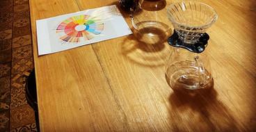 Koffie proeven en testen