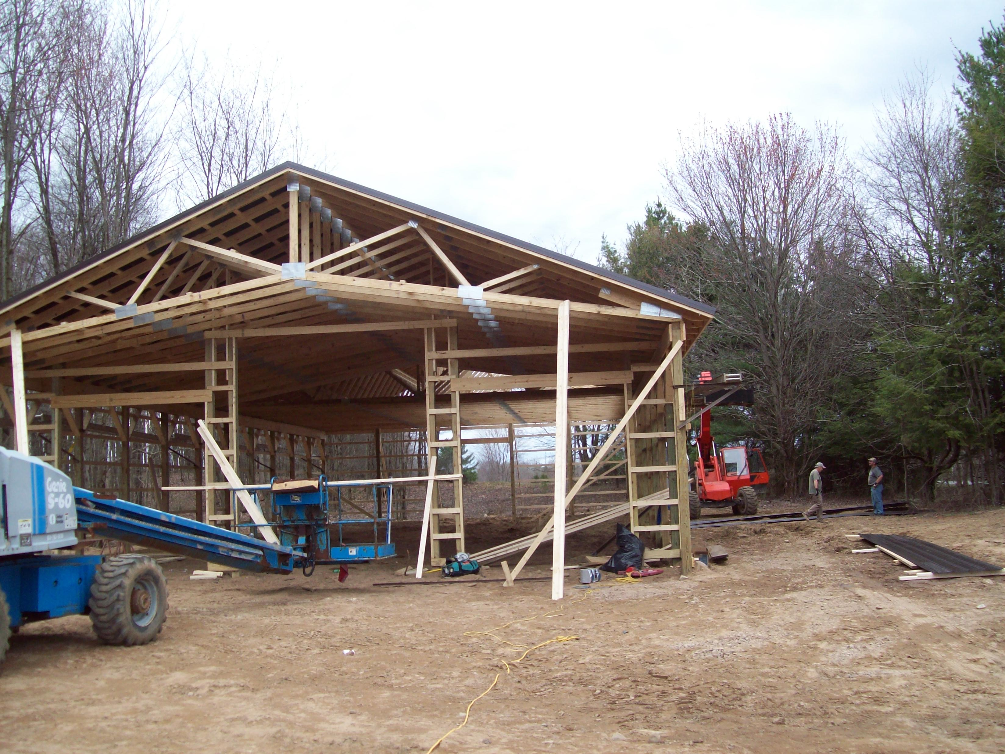 Traditional Pole Barn