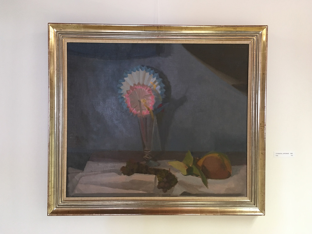 1963, Huile sur toile sur bois, 60 x 71 cm