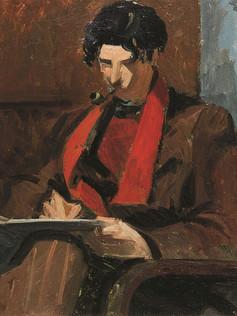 Le peintre Décarli
