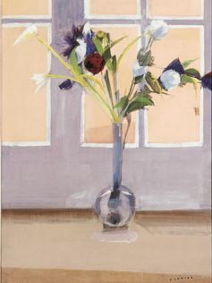 Bouquet à la fenêtre