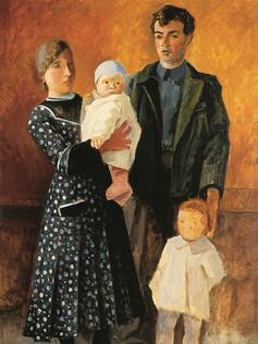 Le peintre et sa famille