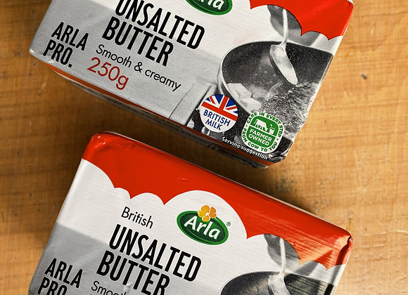 Butter, Unsalted BRITISH