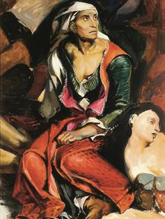 Copie d'Eugène Delacroix