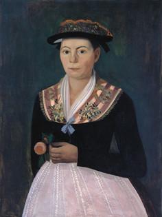 Copie de Corthay Femme à la rose