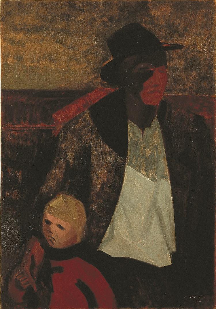 Huile sur toile, 118 x 81 cm, Musée d'art du Valais, Sion (VS)