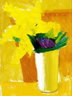 Bouquet mimosas
