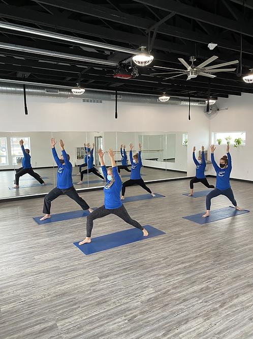 Summer 6/27-8/14; 5 Yoga punch pass