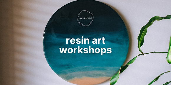 Group Resin Art Workshop