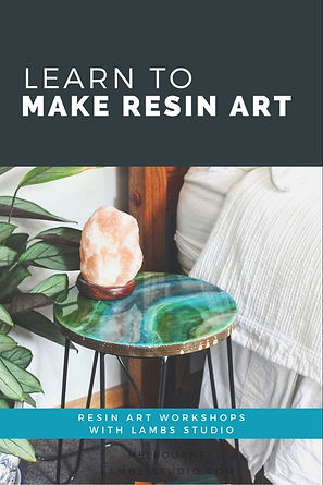Resin Art Workshops with Lambs Studio.jp