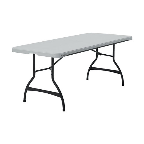 Plastový skládací stůl, pevná deska