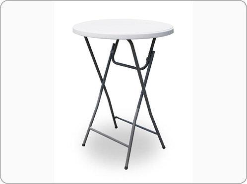 Barový stolek skládací ocelový, loketka