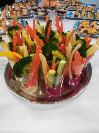 zeleninové cruditte