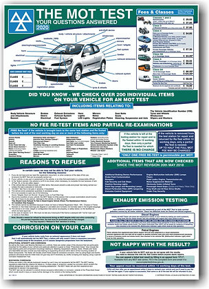 MOT POSTER – THE MOT, CUSTOMER INFORMATION (MCI)