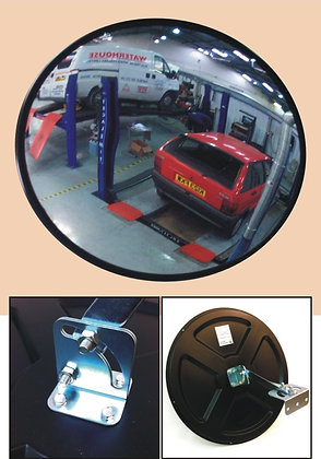 (WALL MOUNTED) CONVEX VIEWING MIRROR - 450MM DIAMETER