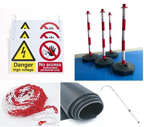EHV WORKSHOP SAFETY - STARTER PACK - PLASTIC POST VERSION