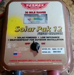 Parmak Solar Pak 12