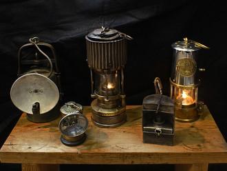 Первые устройства для обнаружения горючих газов