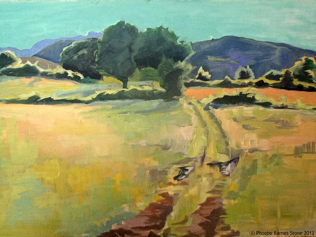 'TuscanDusk',oiloncanvas,16''x24''.