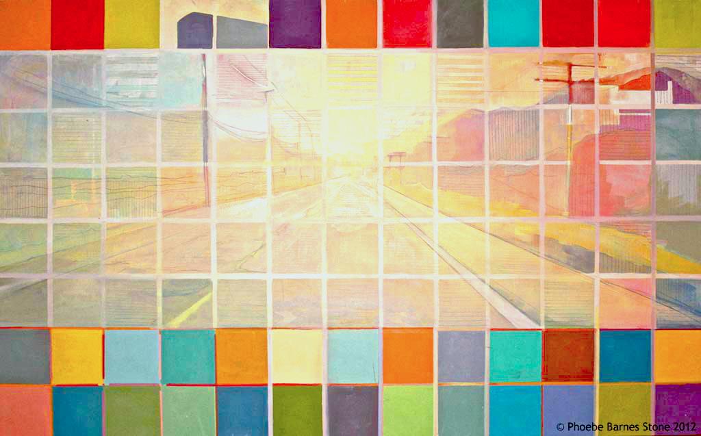 'Road',2010.oilonboard ,44''x60'