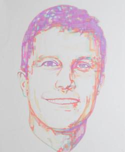 'Steven',marker,14''x17''.