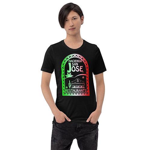 San Jose Bella Front Short-Sleeve Unisex T-Shirt