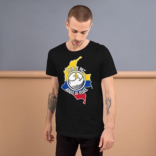 Casa De Paz Short-Sleeve Unisex T-Shirt